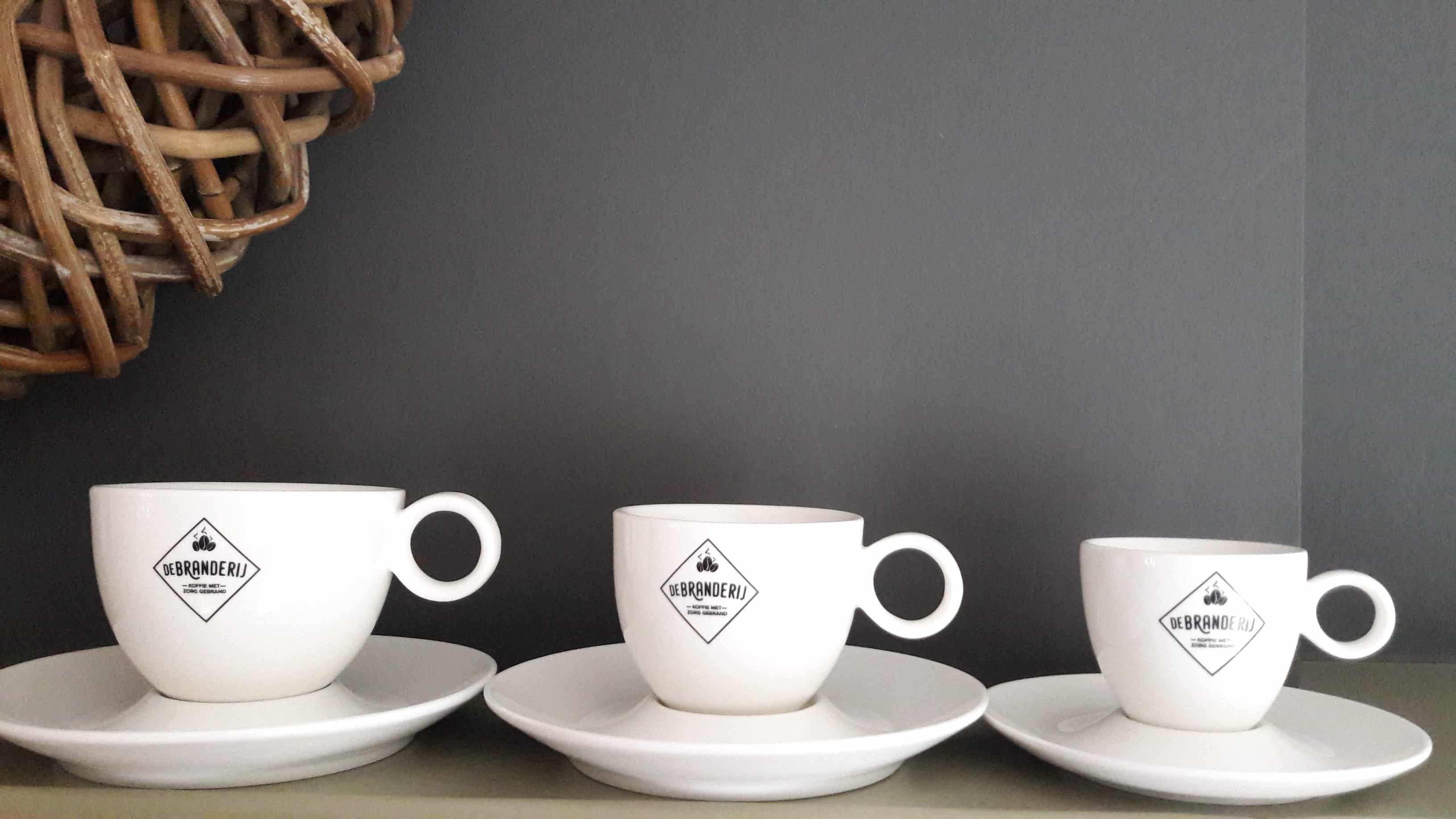 Koffie Kopjes De Branderij